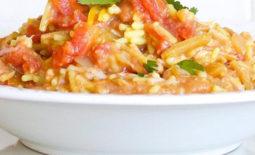 Spicy Rice and Turkey With Chorizo