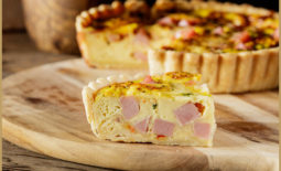 Classic Ham and Cheese Quiche